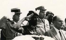 Francois Mitterrand et Thomas Sankara