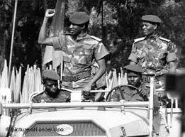 Capitaine Thomas Sankara , Chef d'Etat du Burkina Faso 1983-1987