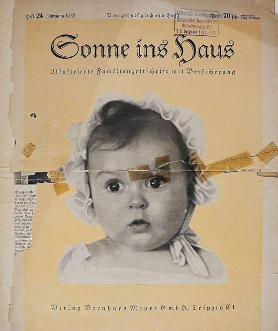 Hessy Haft n'avait que six mois lorsque son image exploitée par la propagande Nazie