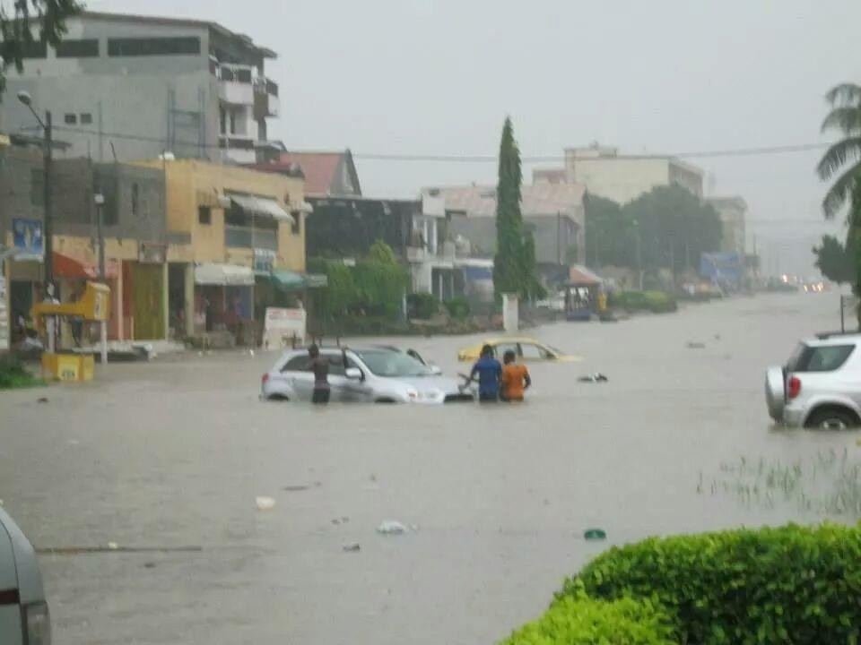 Le visage d'Abidjan après les inondations